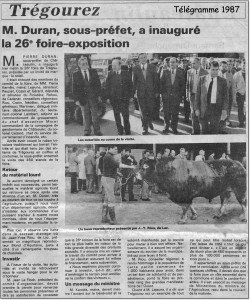 Telegramme 1987